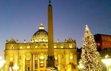 Vatican Christmas Tree Lighting Ceremony