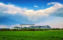 Phosphogypsum mountains of Kėdainiai