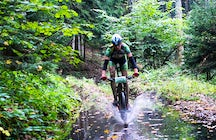 Mountain bike trails in Kozara
