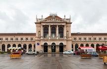 Zagreb main station (Zagreb Glavni kolodvor)