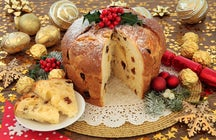 Panettone, a sweet bread from Milano