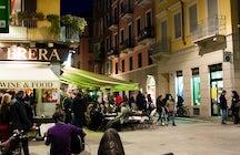 Brera quartiere di Milano
