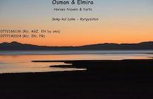 Osmon & Elmira, Horses & Yurts at Song kul lake