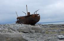 Plassey Wreck Ship on Inisheer, Aran Islands