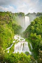 Trekking around the Waterfall