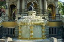 Neptune Fountain, Santiago