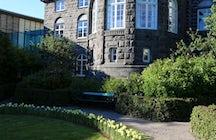Althingi - the Parliament house of Iceland