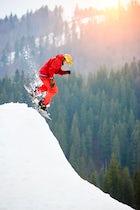 Bukovel Ski Resort, the Carpathian Mountains