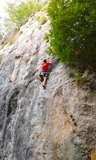 Climbing in Kozara