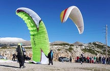 Bird's View Lefkada Paragliding