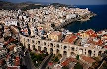 Kamares aqueduct, the city's trademark