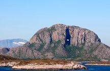 Torghatten mountain