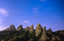 The sky of Montserrat