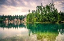 Bohdanec lakes