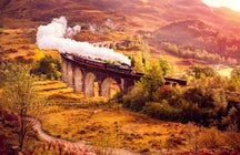 One of greatest railways journeys in the world; Jacobite Steam Train