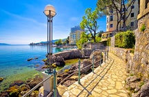 Have a walk along Lungomare Opatija
