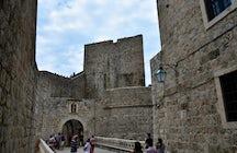 Ploce Gate in Dubrovnik