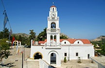 Visit the Monastery of Panagia Tsambika