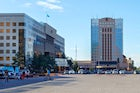 Old central square, Nur-Sultan