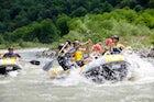 Rafting in Pasanauri
