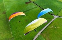 Paragliding Gruyère