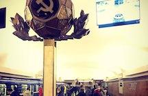 Płošča Lenina metro station, Minsk