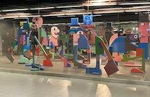 Botanique metro station, Brussels