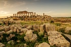 See the acropolis of Selinunte