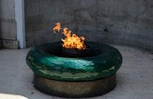 Eternal Flame in Sarajevo