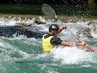 Kayak-canoeing on Vrbas