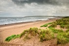 Lunan bay, one of the most beautiful beaches in Scotland