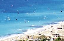 Agios Ioannis beach (windsurf)