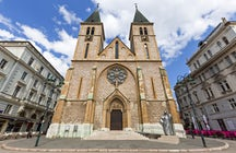 Sacred Heart Cathedral in Sarajevo