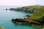 The Lizard peninsula, most southerly point of British mainland