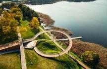 Zarasai observation bridge