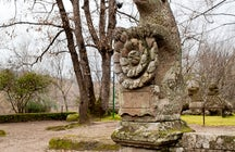 Visit the Bomarzo Gardens