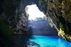 Discover the cave and salt lake of Melissani, in Kefalonia