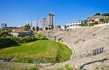 The Amphitheatre of Durrës.