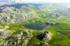 Štirinsko Lake at Mt. Zelengora
