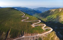 Urdele Pass, Transalpina Road
