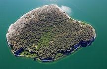 Golem Grad island, North Macedonia