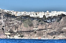 Walk from Fira to Oia - Trekking Santorini