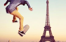 Game of SKATE with Parisians