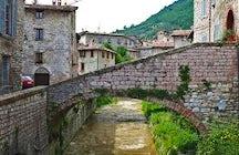 A stroll in Gubbio