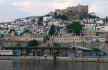 The castle and the acropolis of Kavala