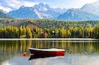 Štrbské Pleso lake, the High Tatras