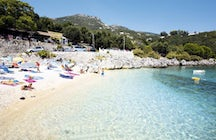Nissaki Beach in Corfu