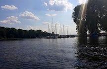 Wannsee lake of Berlin