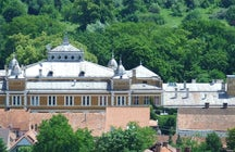 The Cultural Palace Bistrița (Palatul Culturii)