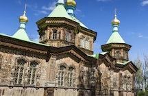 Holy Trinity Orthodox Church in Karakol